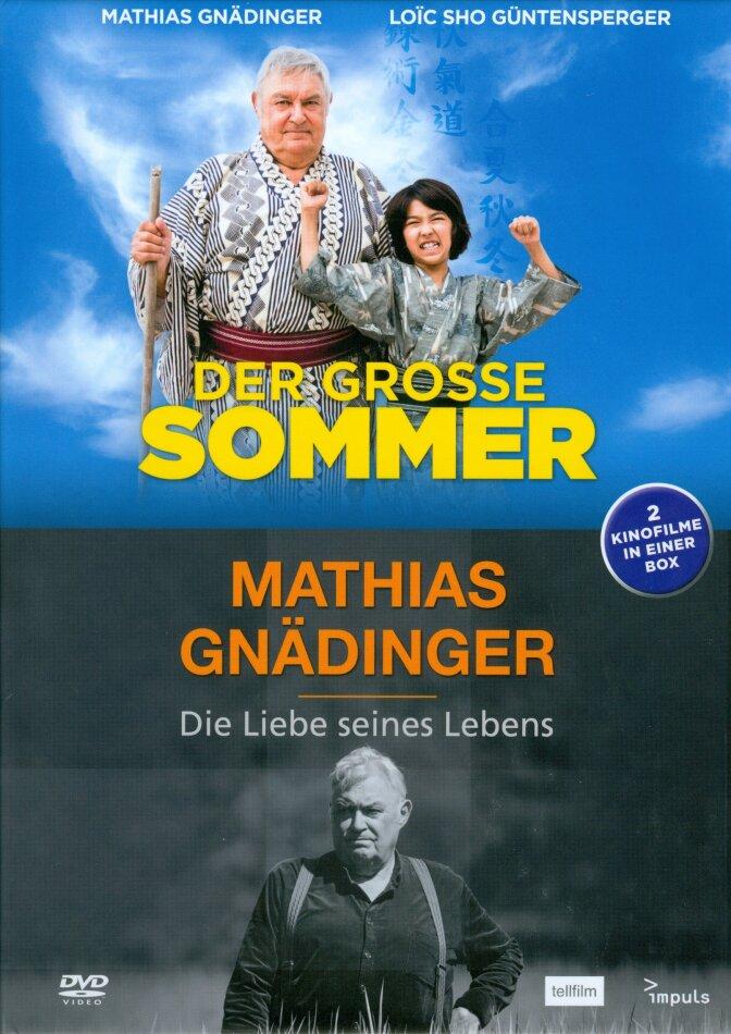 Der grosse Sommer / Mathias Gnädinger - Die Liebe seines Lebens (Mediabook, 2 DVDs)