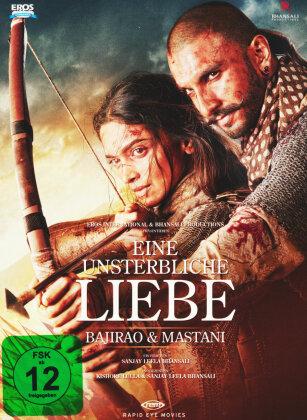Eine unsterbliche Liebe - Bajirao & Mastani (2015) (Digibook, Blu-ray + DVD)