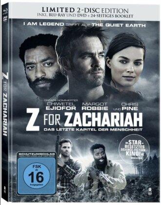 Z for Zachariah (2015) (Limited Edition, Mediabook, Blu-ray + DVD)
