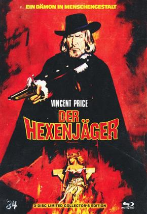 Der Hexenjäger (1968) (Cover A, Limited Collector's Edition, Mediabook, Blu-ray + 2 DVDs)