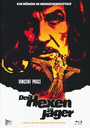 Der Hexenjäger (1968) (Cover B, Limited Collector's Edition, Mediabook, Blu-ray + 2 DVDs)