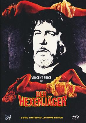 Der Hexenjäger (1968) (Cover C, Limited Collector's Edition, Mediabook, Blu-ray + 2 DVDs)