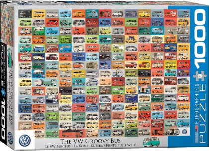 The VW Groovy Bus - 1000 Piece Puzzle