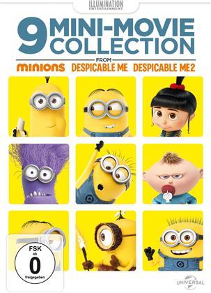9 Mini-Movie Collection - von Minions / Ich - einfach unverbesserlich 1 + 2
