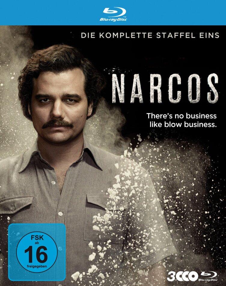 Narcos - Staffel 1 (3 Blu-rays)