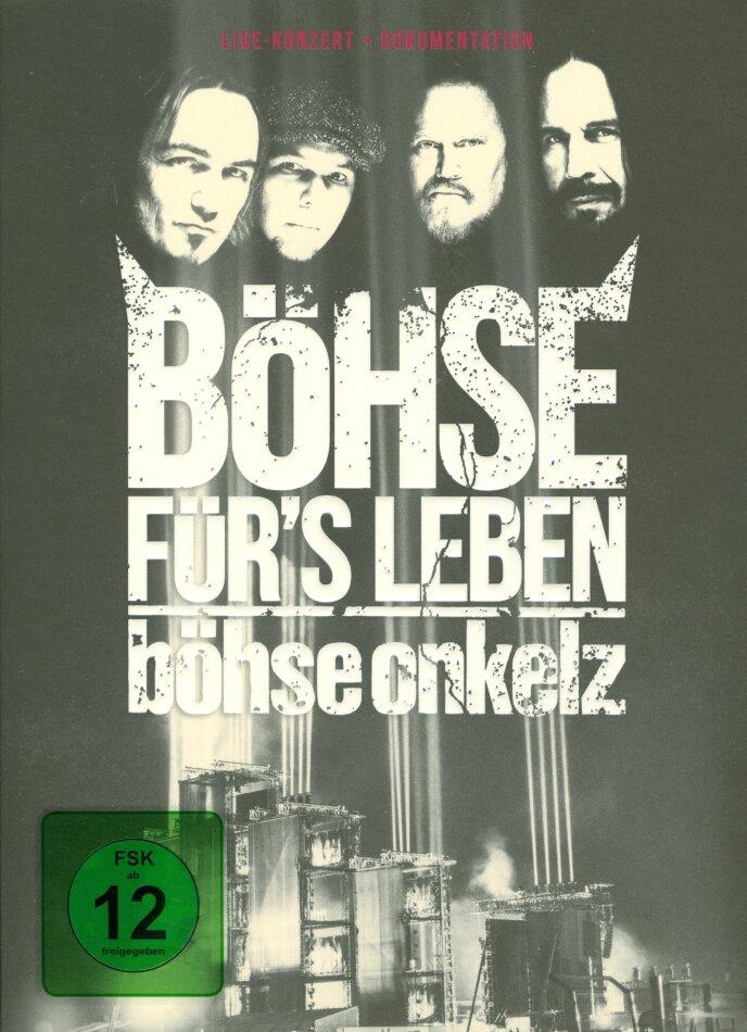 Böhse Onkelz - Böhse für's Leben - Live (Mediabook, 3 DVDs + 4K Ultra HD)