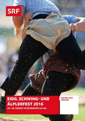 Eidgenössisches Schwing- und Älplerfest 2016 - SRF Dokumentation (2 DVDs)