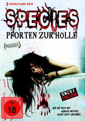 Species - Pforten zur Hölle - 3 Spielfilme Box (Uncut)