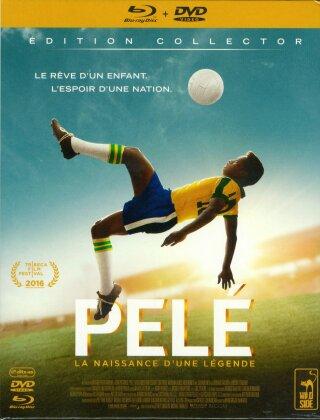Pelé - La Naissance d'une Légende (2016) (Collector's Edition, Blu-ray + DVD)