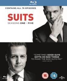 Suits - Seasons 1-5 (19 Blu-rays)