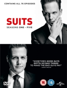 Suits - Seasons 1-5 (20 DVDs)