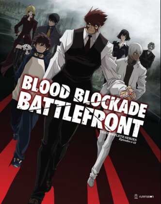 Blood Blockade Battlefront - The Complete Series (Limited Edition, 2 DVDs + 2 Blu-rays)