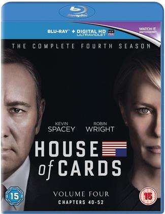 House of Cards - Season 4 (4 Blu-ray)