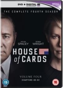 House of Cards - Season 4 (4 DVD)
