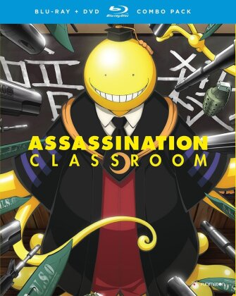 Assassination Classroom - Season 1.2 (2 Blu-rays + 2 DVDs)