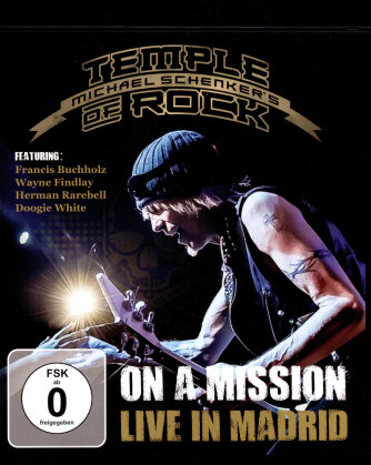 Michael Schenker - Temple of Rock - On a Mission - Live in Madrid