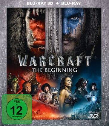 Warcraft - The Beginning (2016) (Blu-ray 3D + Blu-ray)
