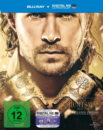 The Huntsman & The Ice Queen (2016) (Extended Edition, Kinoversion, Limited Edition, Steelbook)
