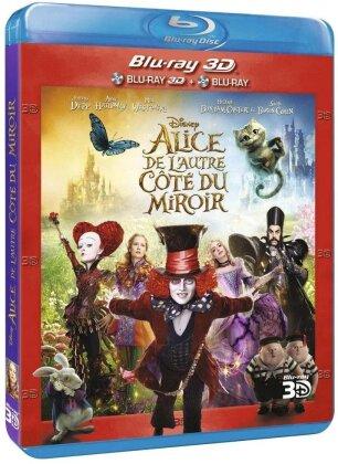 Alice de l'autre côté du miroir (2016) (Blu-ray 3D + Blu-ray)