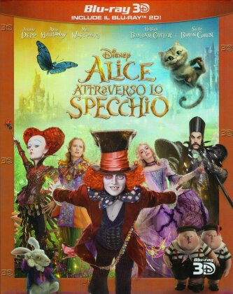 Alice attraverso lo specchio (2016) (Blu-ray 3D + Blu-ray)