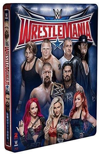 WWE: Wrestlemania 32 (Edizione Limitata, Steelbook, 2 Blu-ray)