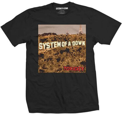 System Of A Down Unisex Tee - Toxicity