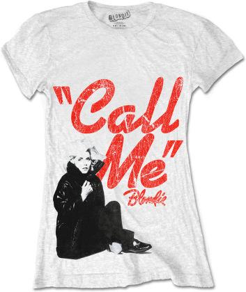 Blondie Ladies T-Shirt - Call Me