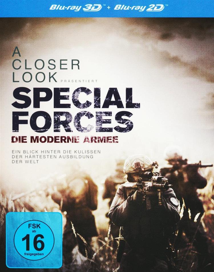 Special Forces - Die moderne Armee (2016) (2 Blu-ray 3D (+2D))