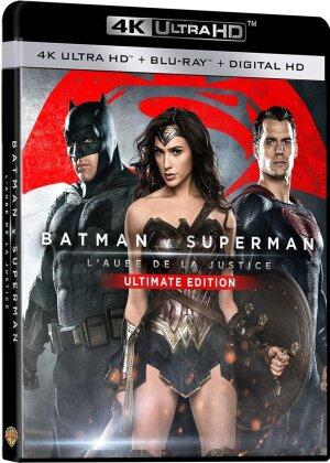 Batman v Superman - L'Aube de la Justice (2016) (Kinoversion, Ultimate Edition, 4K Ultra HD + Blu-ray)