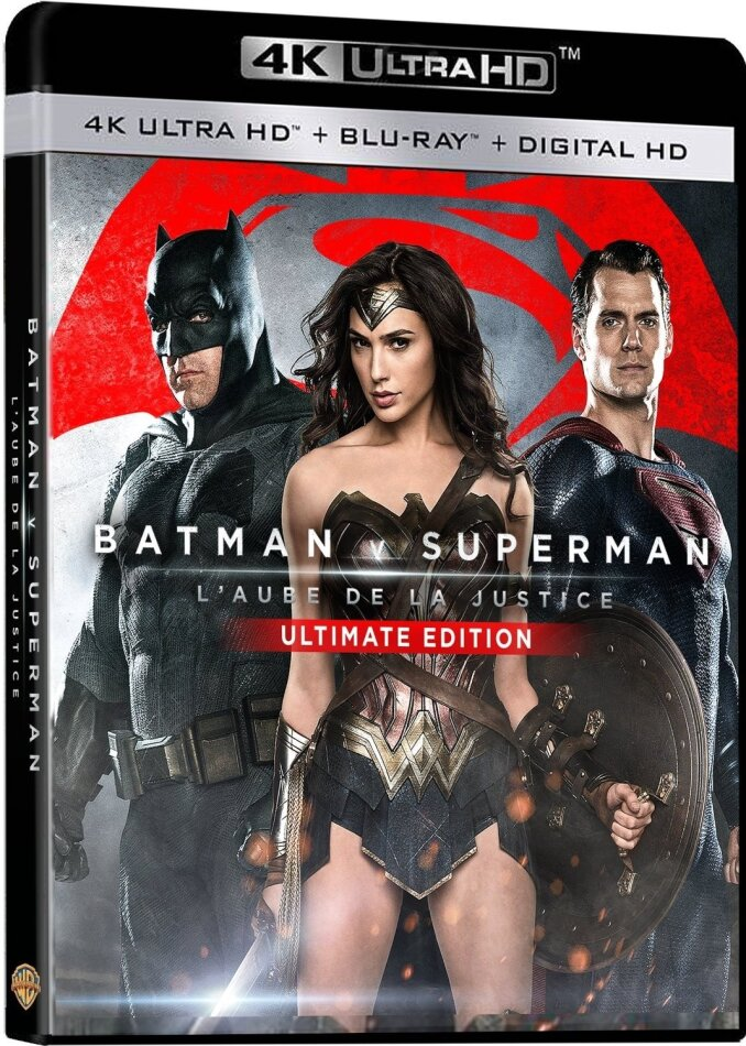 Batman v Superman - L'Aube de la Justice (2016) (Versione Cinema, Ultimate Edition, 4K Ultra HD + Blu-ray)