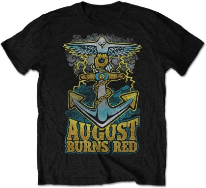 August Burns Red Unisex Tee - Dove Anchor