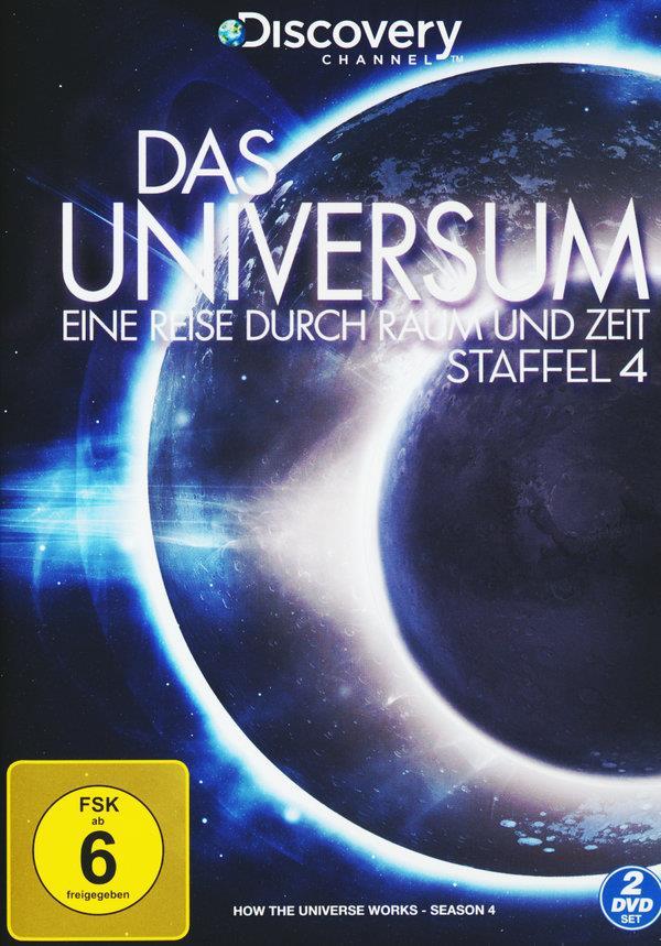 Das Universum - Eine Reise durch Raum und Zeit - Staffel 4 (Discovery Channel, 2 DVDs)