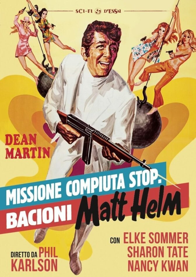 Missione compiuta stop. Bacioni Matt Helm (1968) (Sci-Fi d'Essai, Neuauflage)