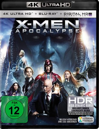 X-Men: Apocalypse (2016) (4K Ultra HD + Blu-ray)