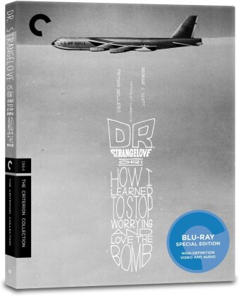 Dr. Strangelove or: How I Learned To Stop Worrying and Love The Bomb (1964) (n/b, Criterion Collection)