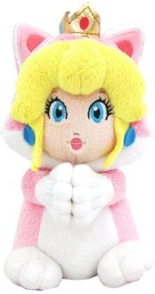 Nintendo: Peach Katze Handmagnet - Plüsch