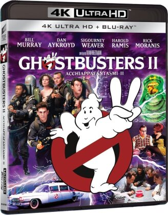 Ghostbusters 2 (1989) (4K Ultra HD + Blu-ray)