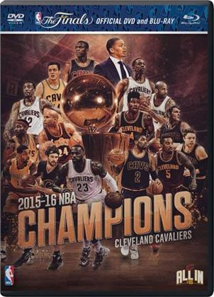 NBA Championship 2015 - 2016 (DVD + Blu-ray)