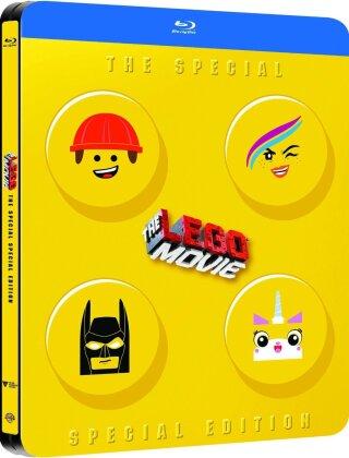 The Lego Movie - La grande aventure LEGO (2014) (Special Edition, Steelbook, 2 Blu-rays)
