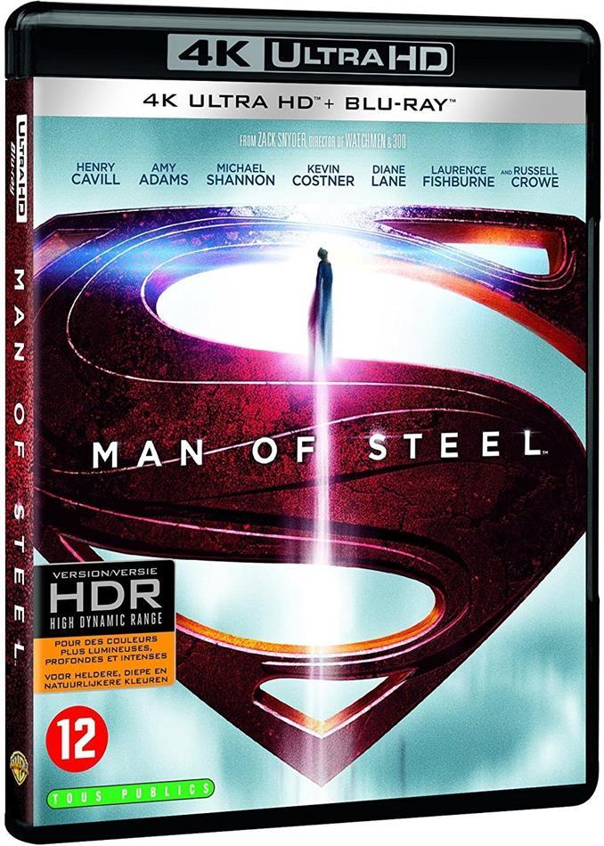 Man of Steel (2013) (4K Ultra HD + Blu-ray)