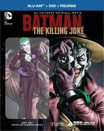 Batman - The Killing Joke (2016) (+ Figurine, Limited Edition, Blu-ray + DVD)