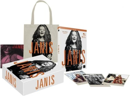Janis - Little Girl Blue (2015) (Limited Collector's Edition, Blu-ray + DVD)