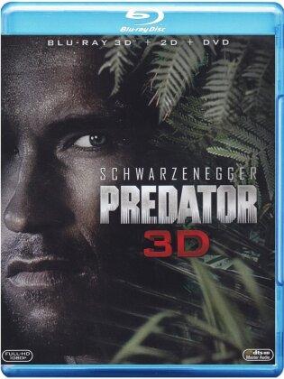Predator (1987) (Blu-ray 3D (+2D) + 2 DVDs)