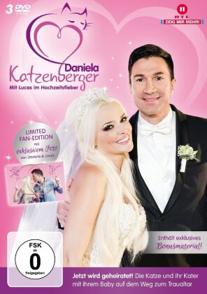 Daniela Katzenberger - Mit Lucas im Hochzeitsfieber (Limited Edition, 3 DVDs)