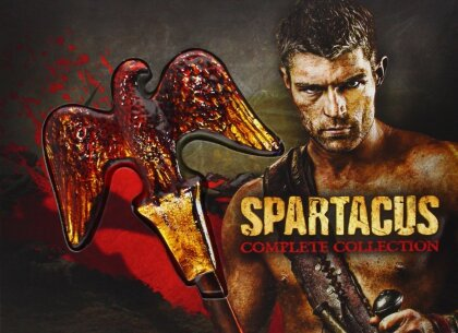 Spartacus - Complete Collection (Edizione Limitata, 16 DVD)