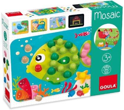 Mosaik Tiere (Kinderspiel)