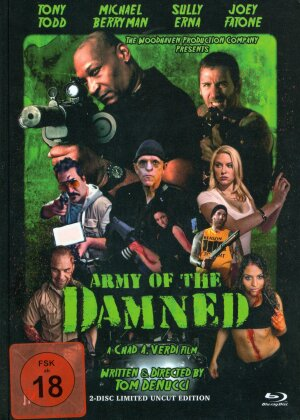 Army of the Damned (2013) (Cover A, Limited Edition, Uncut, Mediabook, Blu-ray + DVD)
