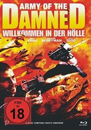 Army of the Damned - Willkommen in der Hölle (2013) (Cover B, Limited Edition, Uncut, Mediabook, Blu-ray + DVD)