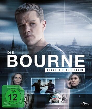 Die Bourne Collection (Digibook, 4 Blu-ray + DVD)
