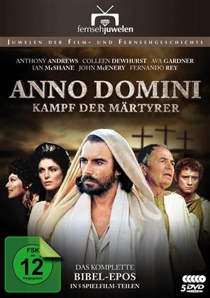 Anno Domini - Kampf der Märtyrer - Das komplette Bibel-Epos in 5 Spielfilm-Teilen (1985) (Fernsehjuwelen, 5 DVDs)